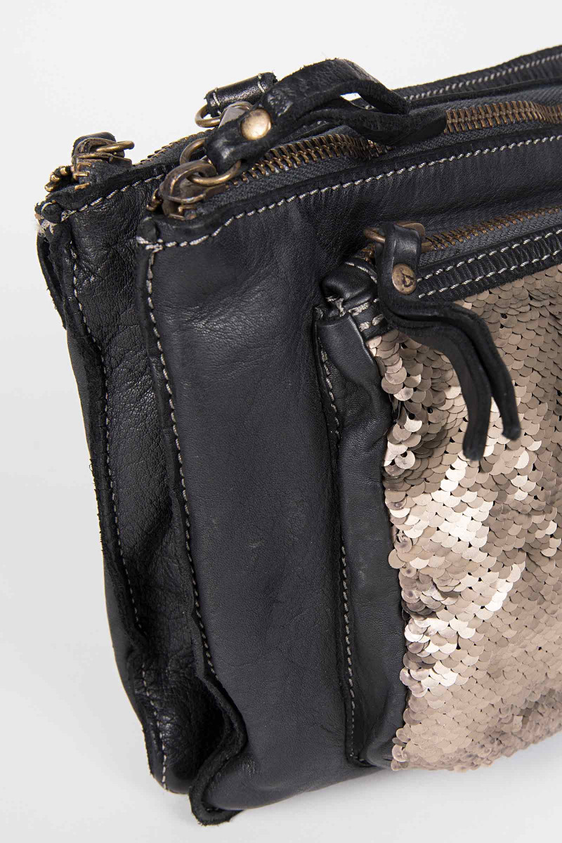Black Sequins Bag