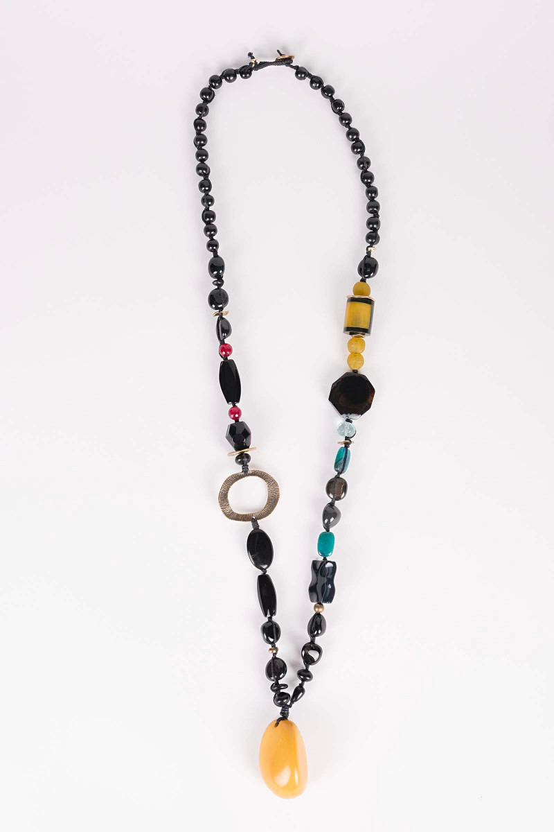 Uranus Yellow Necklace Elisa & Eduardo Rivera