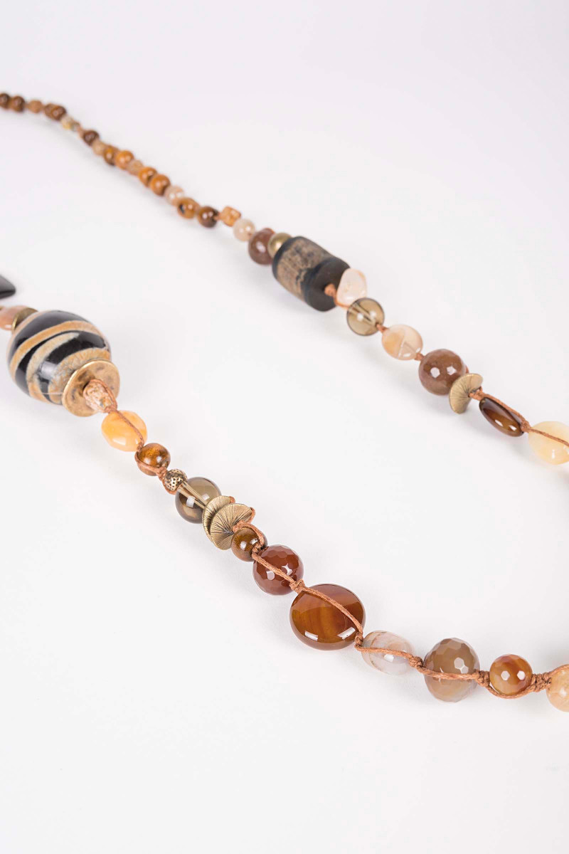 Mercury Brown Necklace