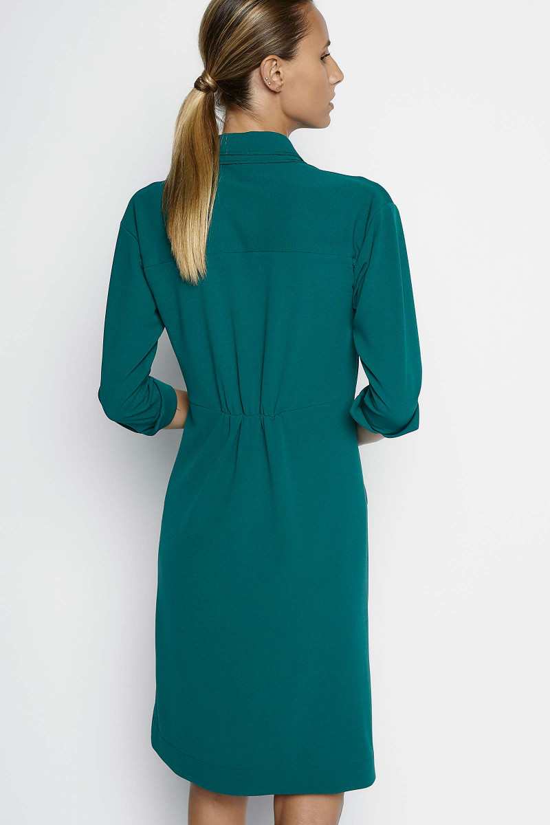 Eleanor Green Dress