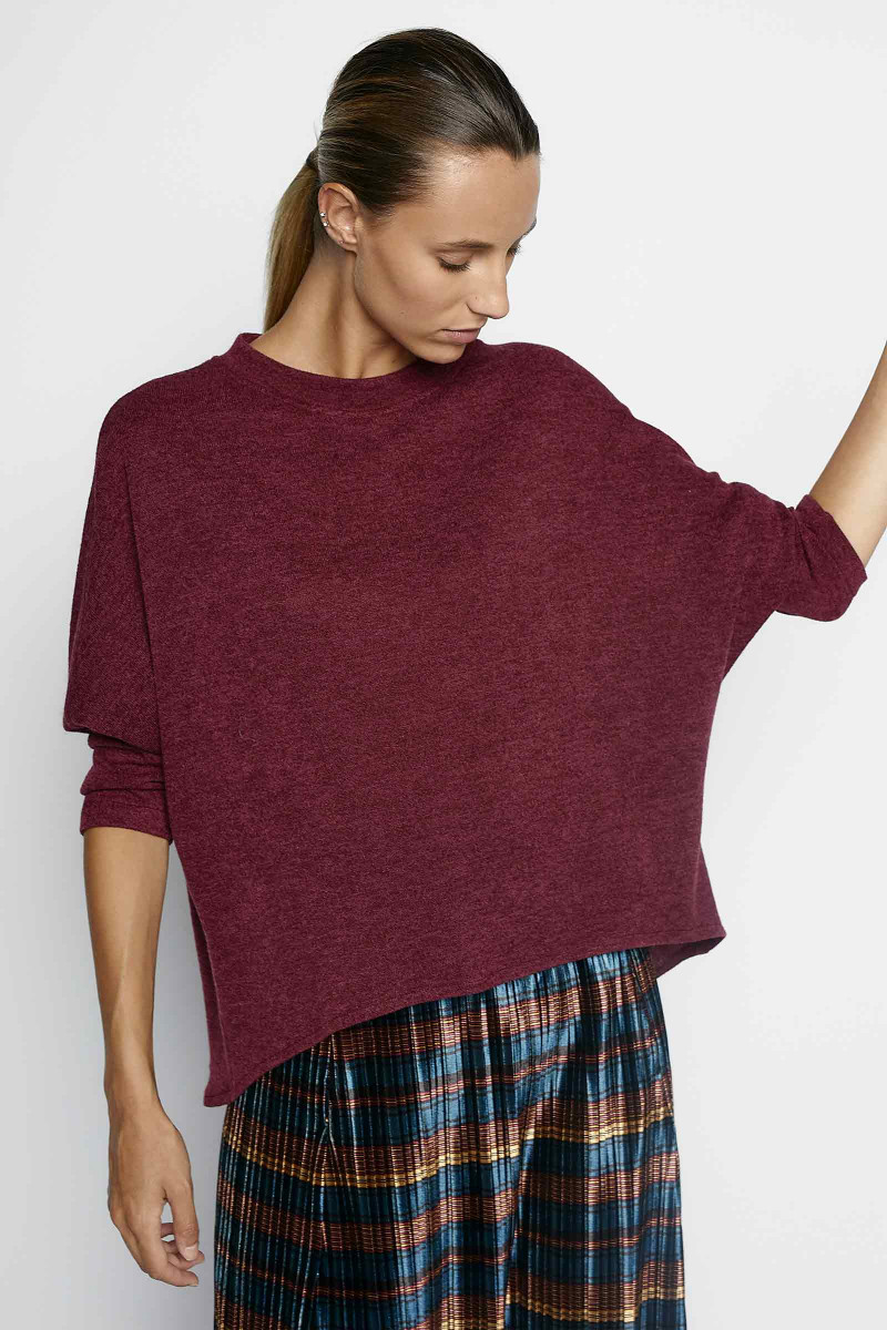 Bordeaux Olympia Sweater