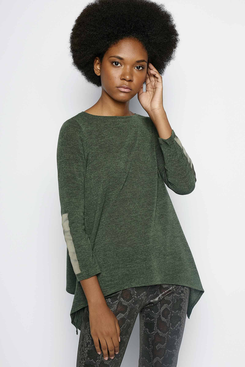 Pineda Green Sweater