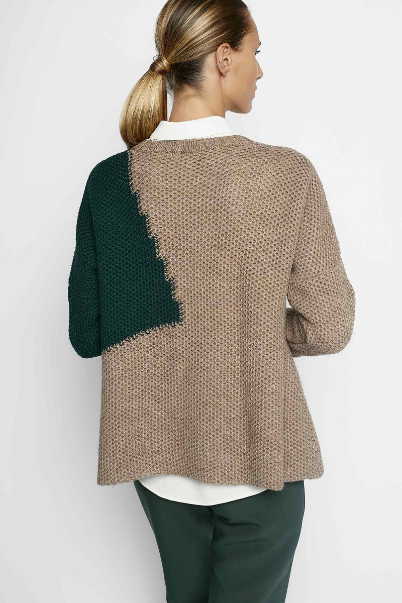 Charlotte Green Sweater