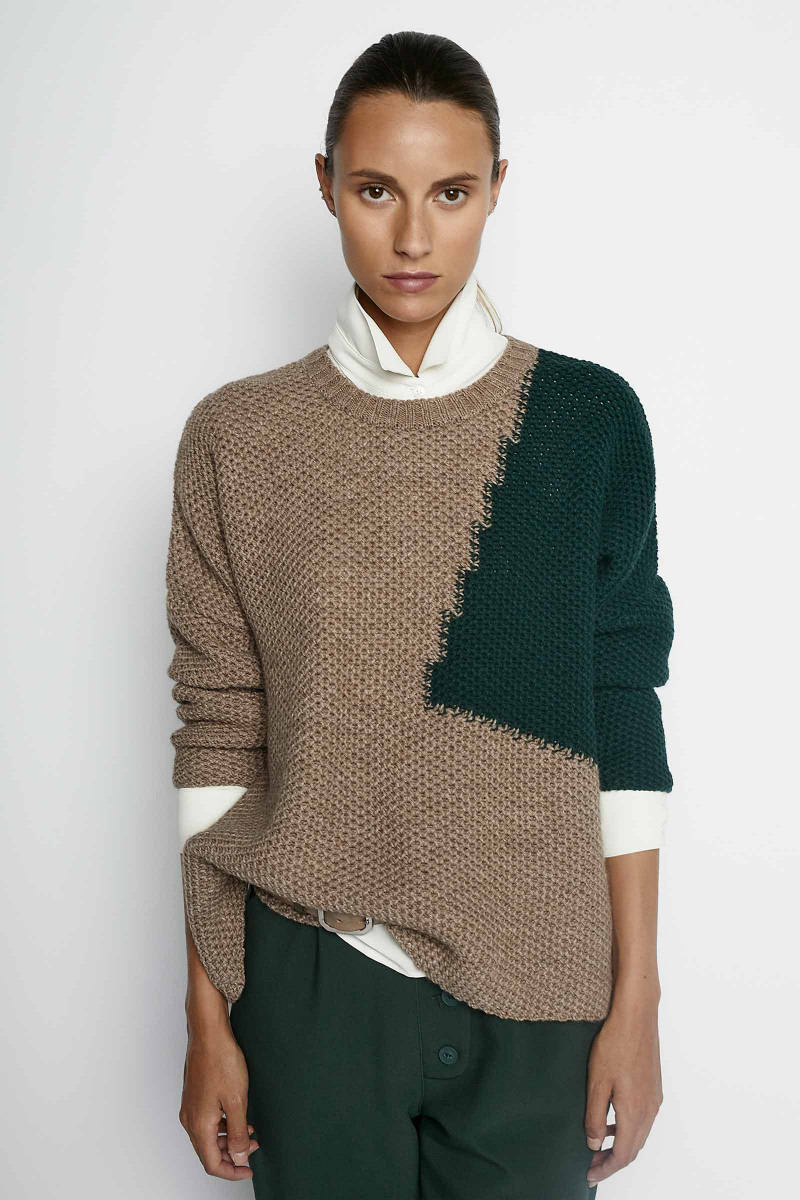 Charlotte Green Sweater Elisa & Eduardo Rivera