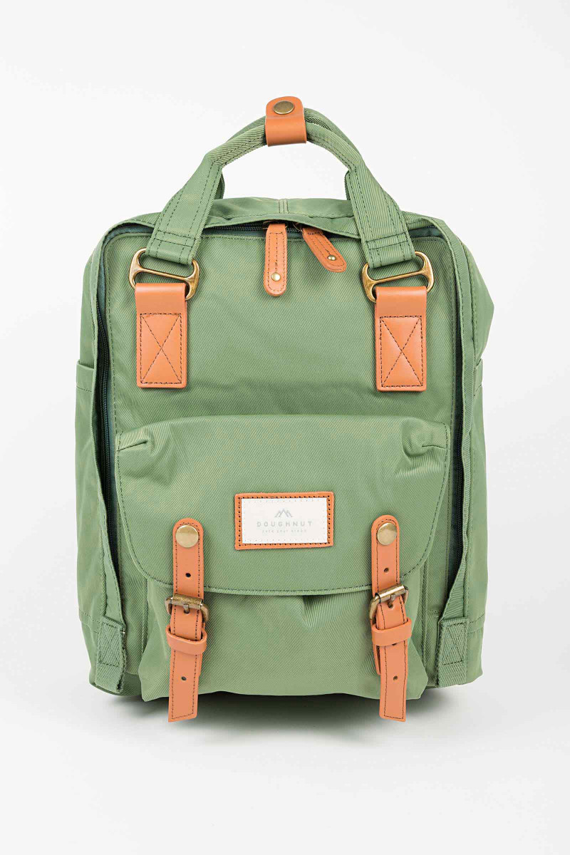Green Nylon Doughnut Backpack Eduardo&Elisa Rivera