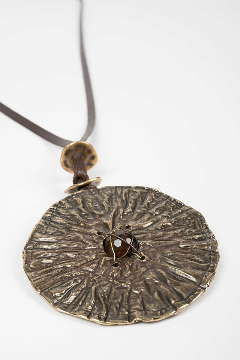 Venus Brass Necklace