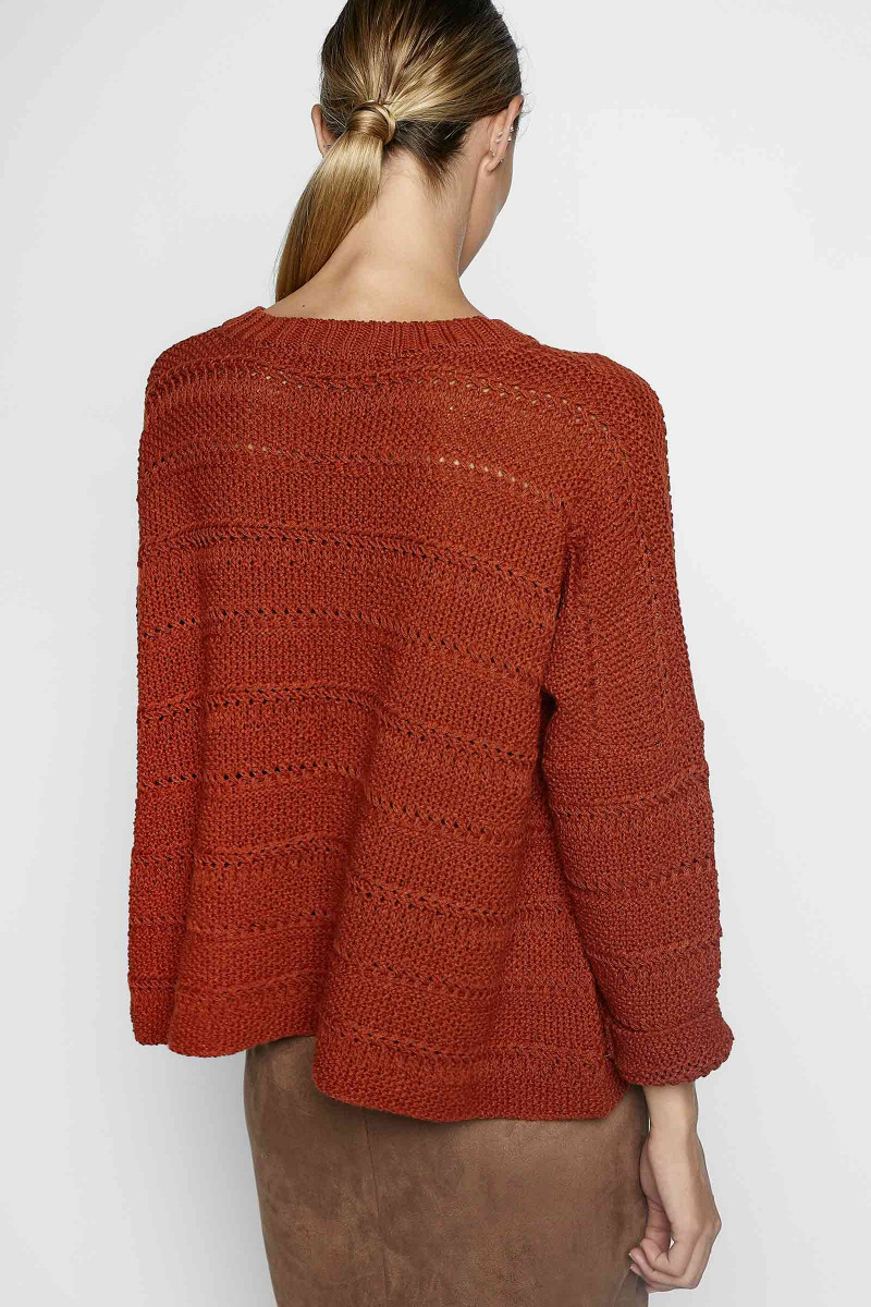 Orange Mimosa Sweater