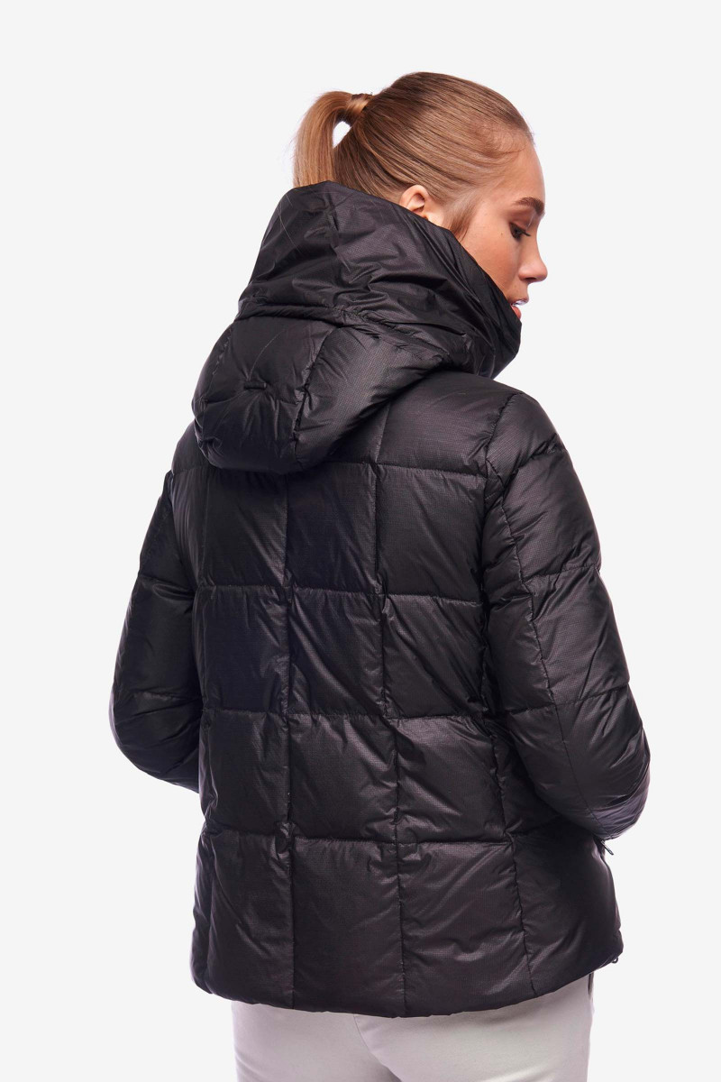 Black Down Jacket Kaur Blauer