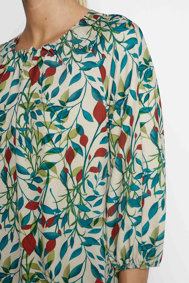 Flora Leaves Dress