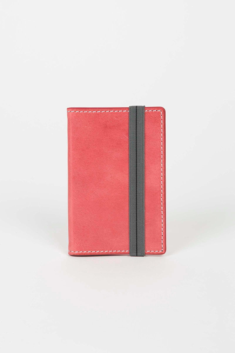 Light Red Cardholder Eduardo & Elisa Rivera