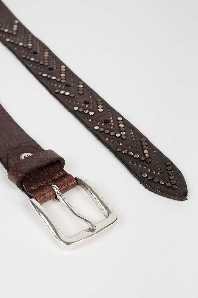 Brown Tacks Belt