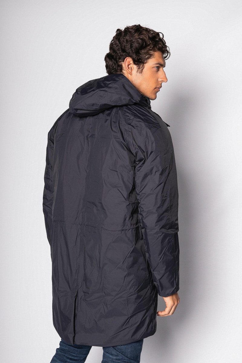 Blue K-way Parka
