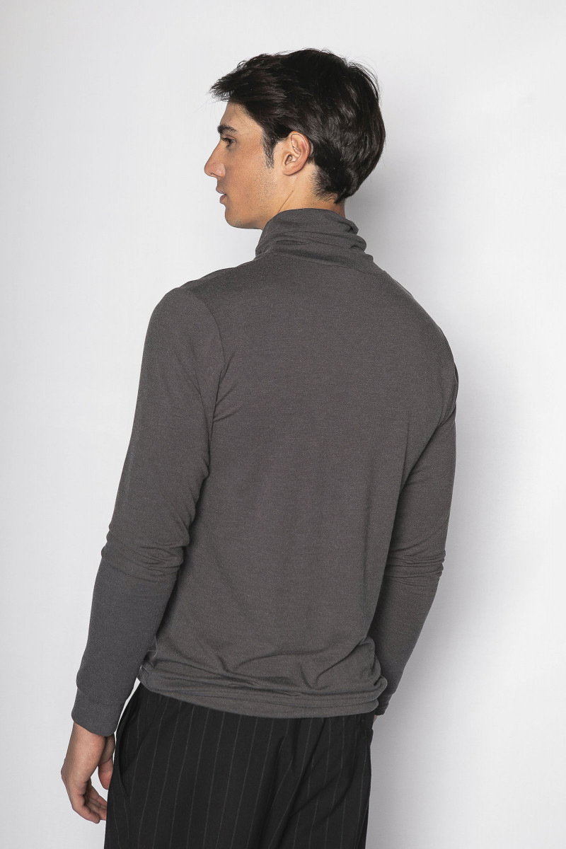 Gray Long Sleeve T-shirt