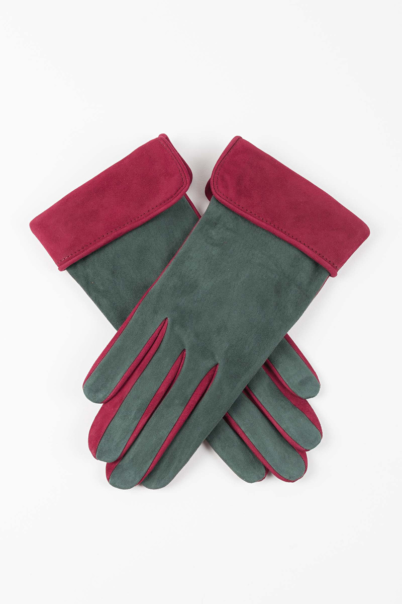 Silk Leather Gloves Elisa & Eduardo Rivera
