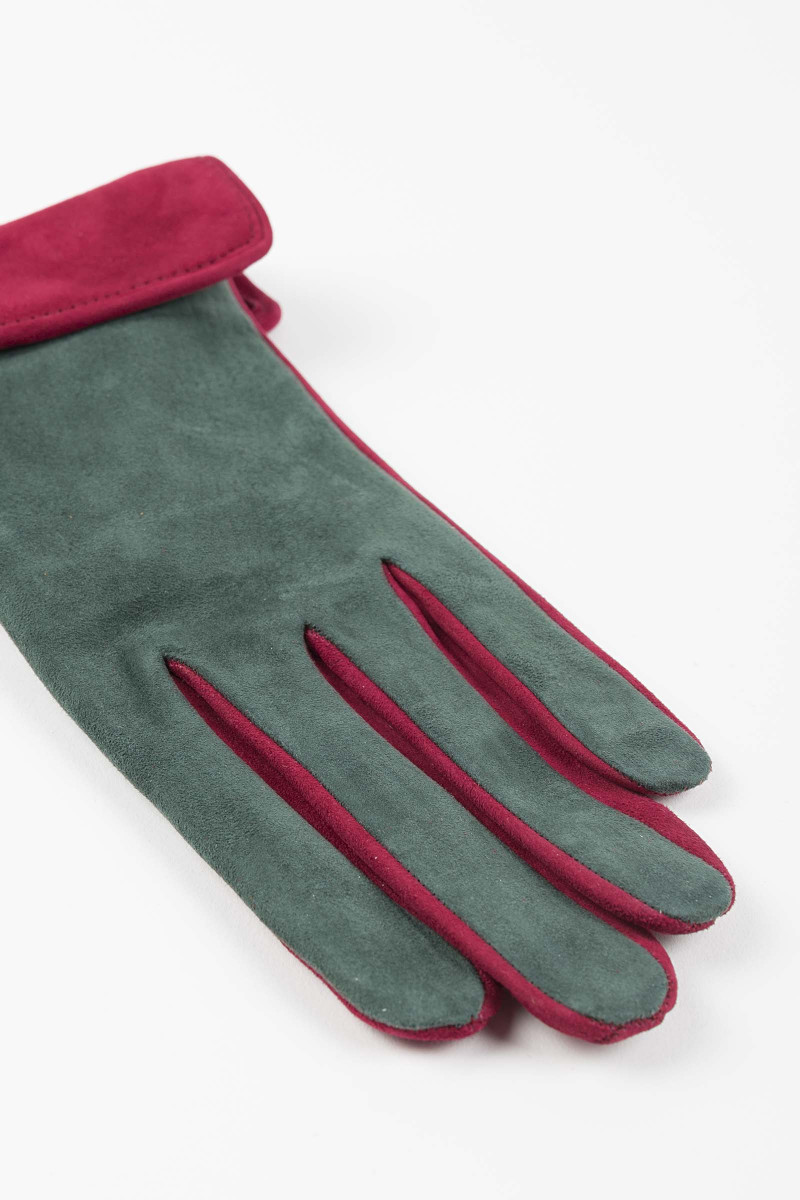 Silk Leather Gloves