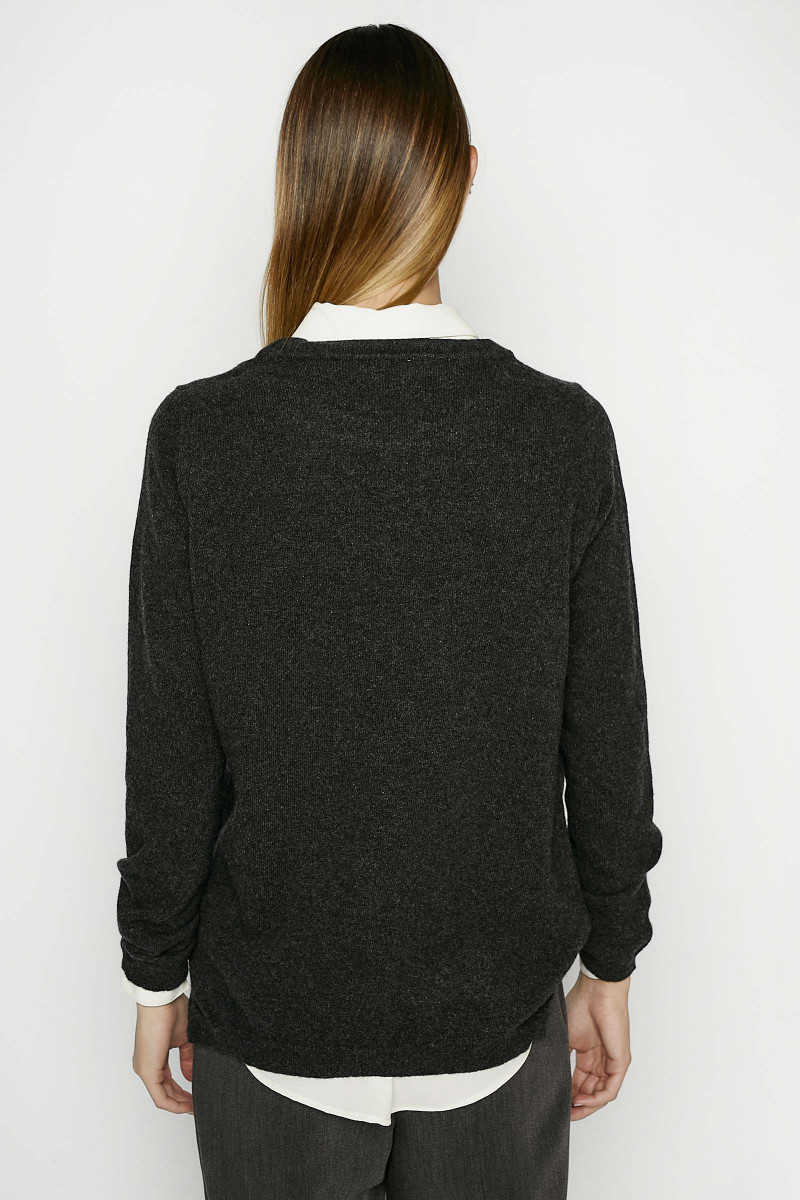 Anthracite Gray Sweater
