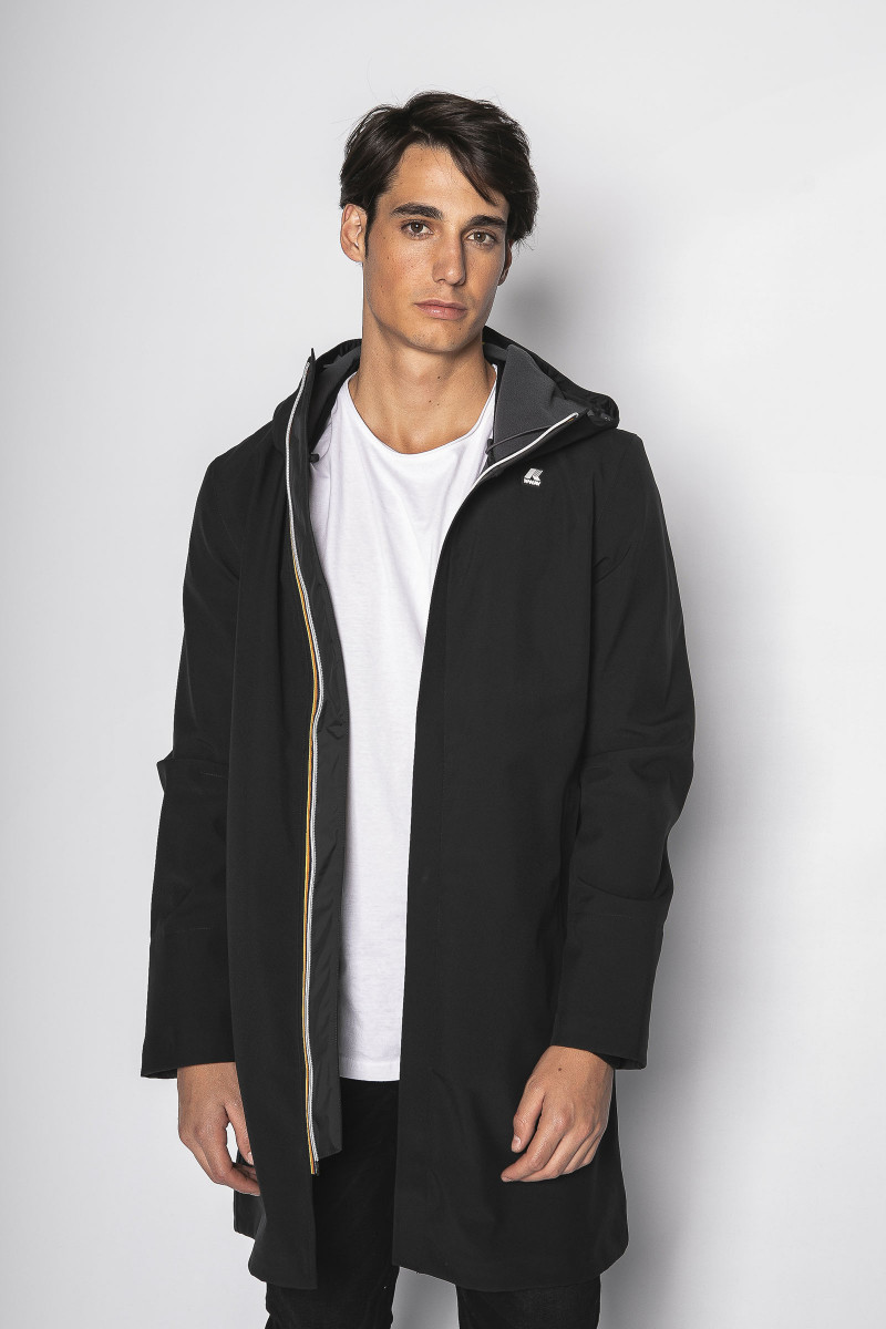 Black K-Way Parka