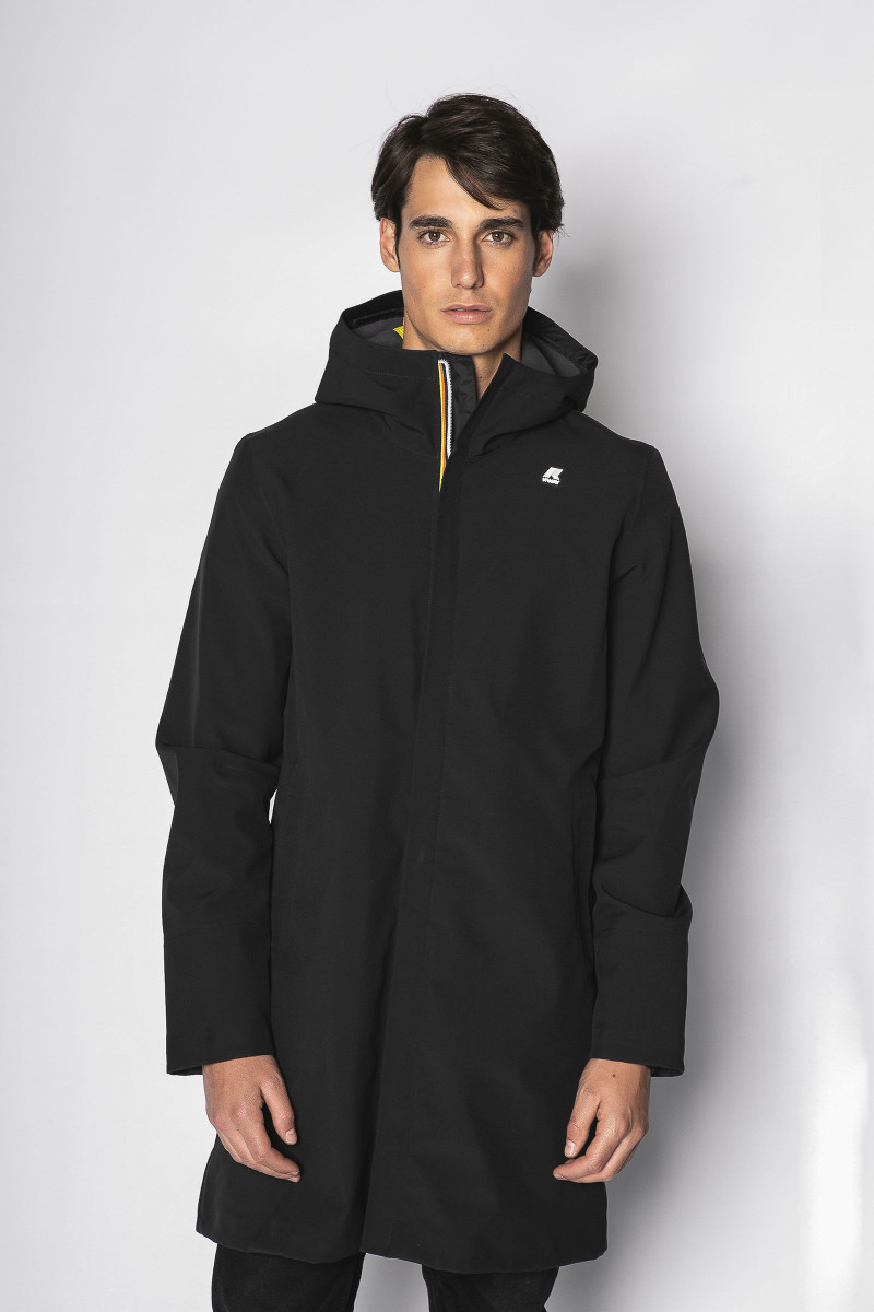 Parka K-Way Negra