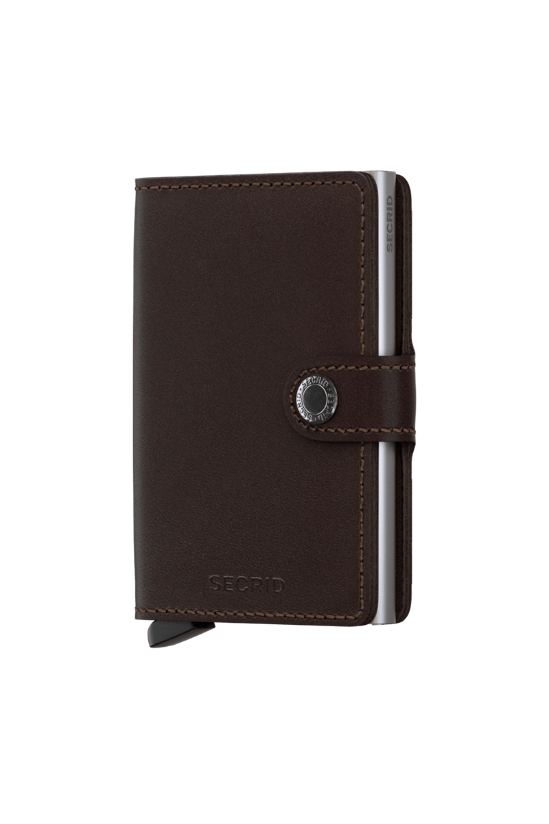 Original Dark Brown Cardholder Eduardo & Elisa Rivera