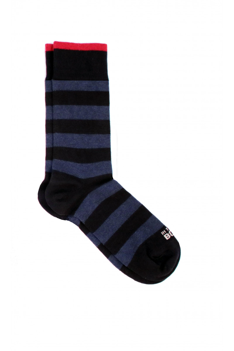 Blue Striped Sock Eduardo & Elisa Rivera