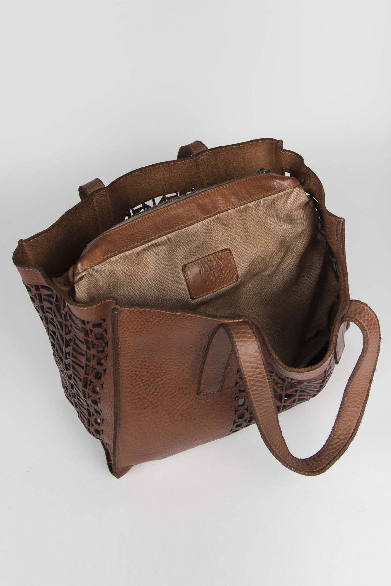 Bucket Brown Leather Bag