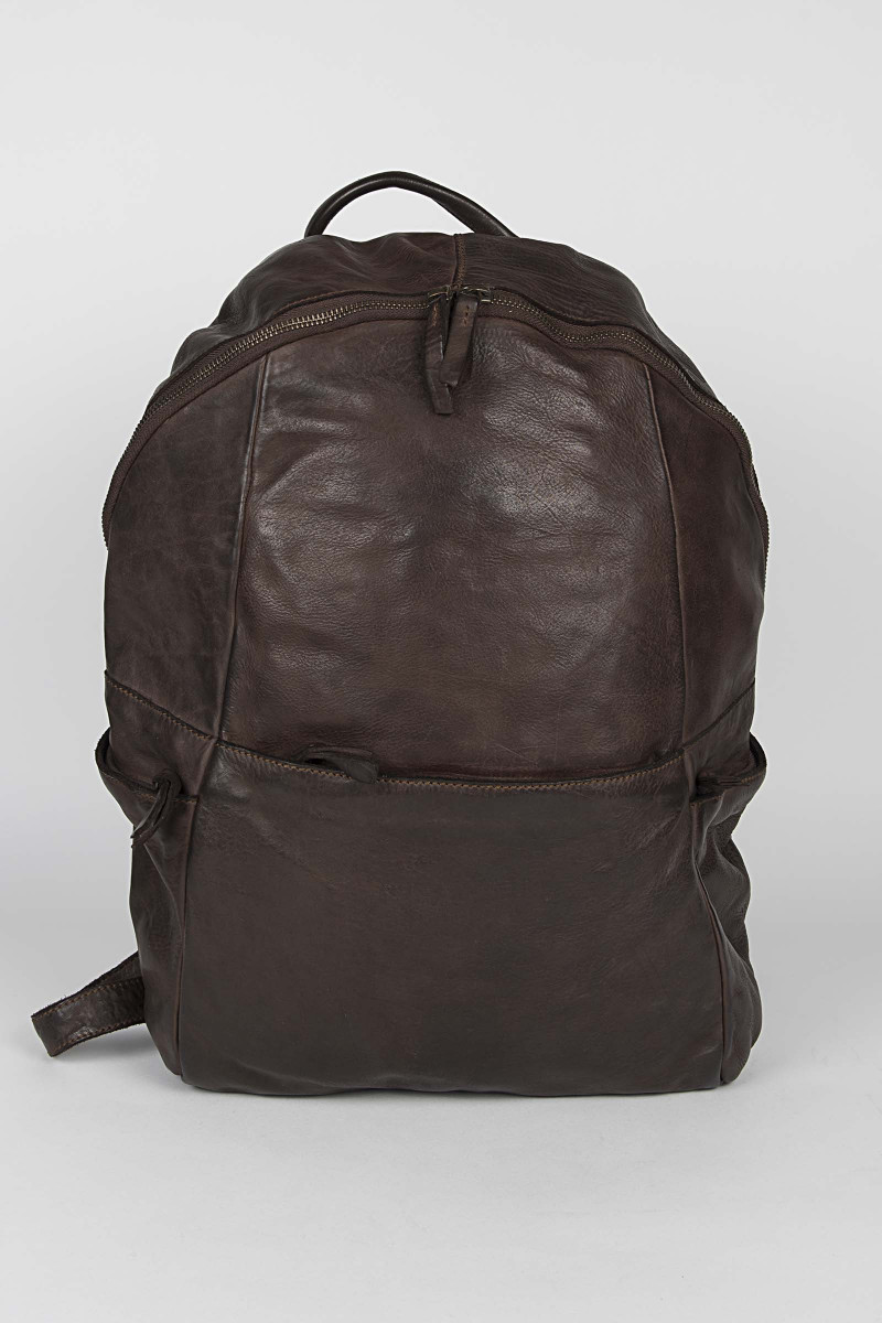 Brown Leather Backpack Eduardo & Elisa Rivera