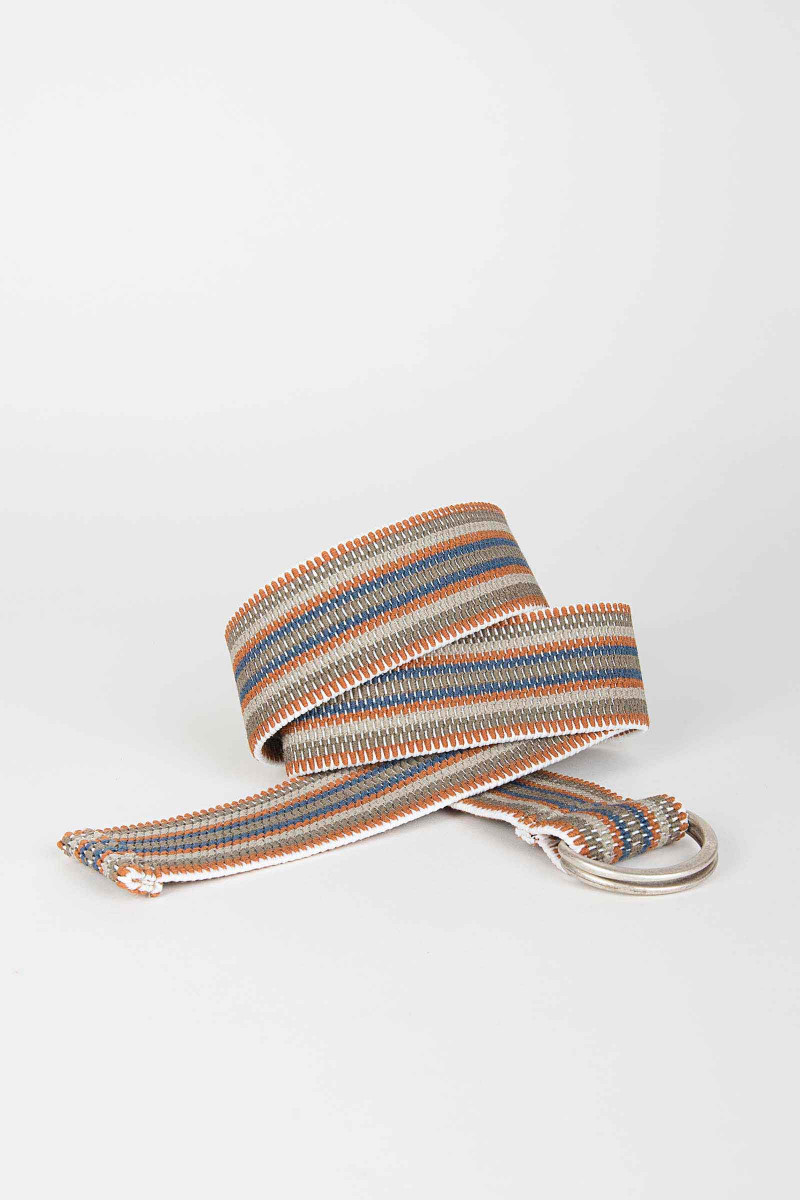 Stripes Elastic Belt Elisa & Eduardo Rivera