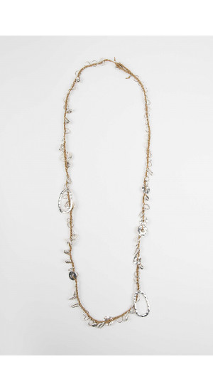 Camel Washers Necklace Elisa & Eduardo Rivera