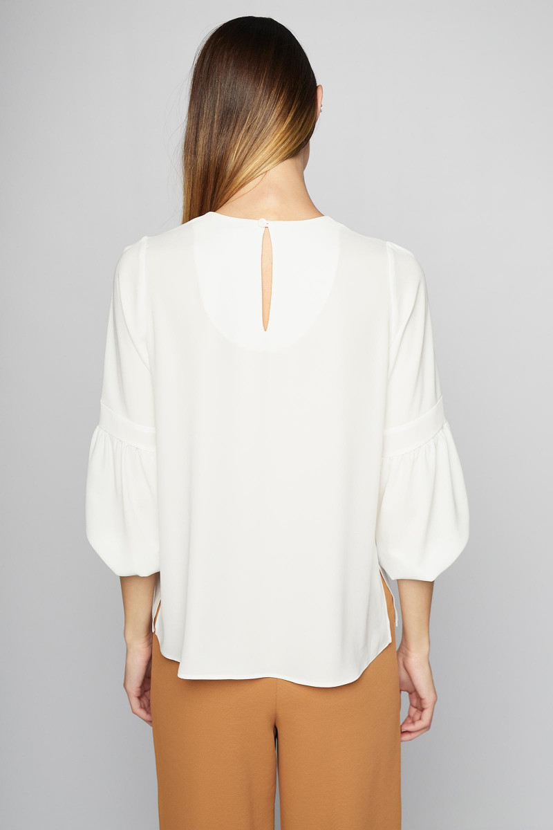 White Dalia Blouse