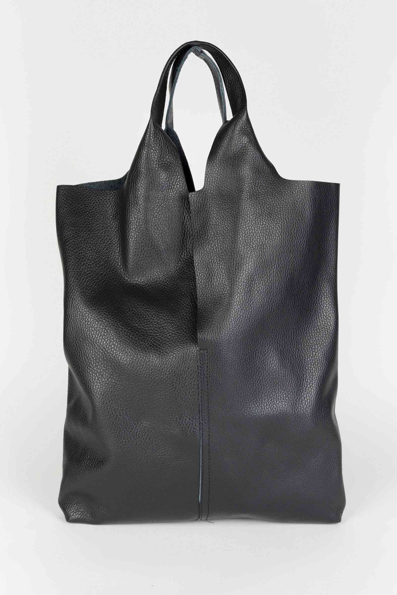 Black Leather Hobo Bag Elisa & Eduardo Rivera