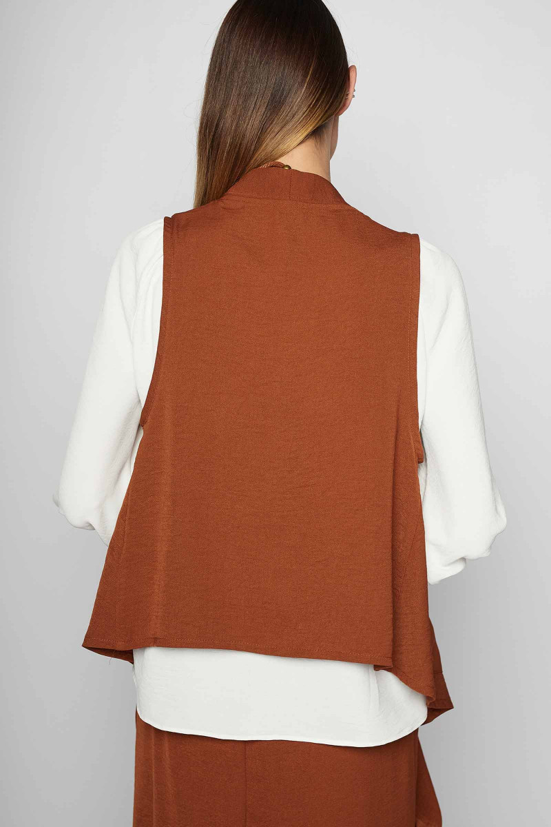 Terracotta Sella Vest