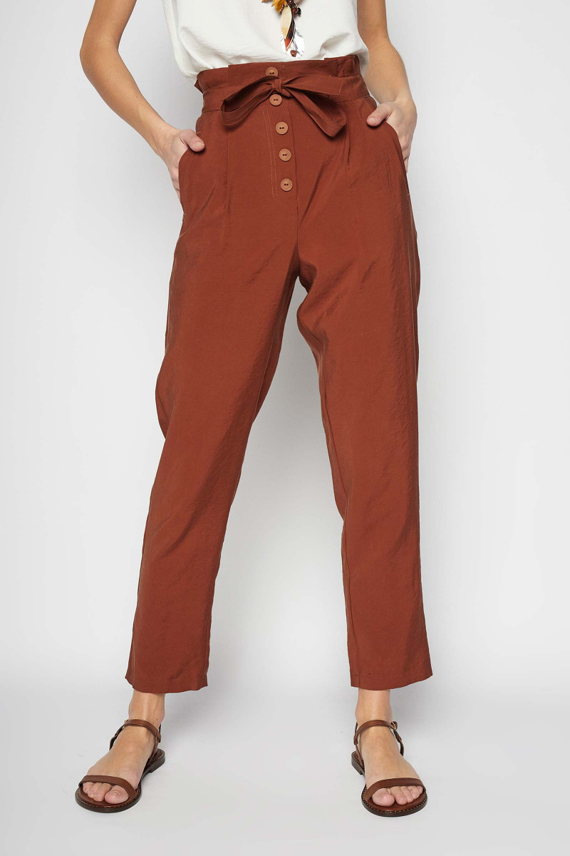 Terracotta Cinca Pants Elisa & Eduardo Rivera