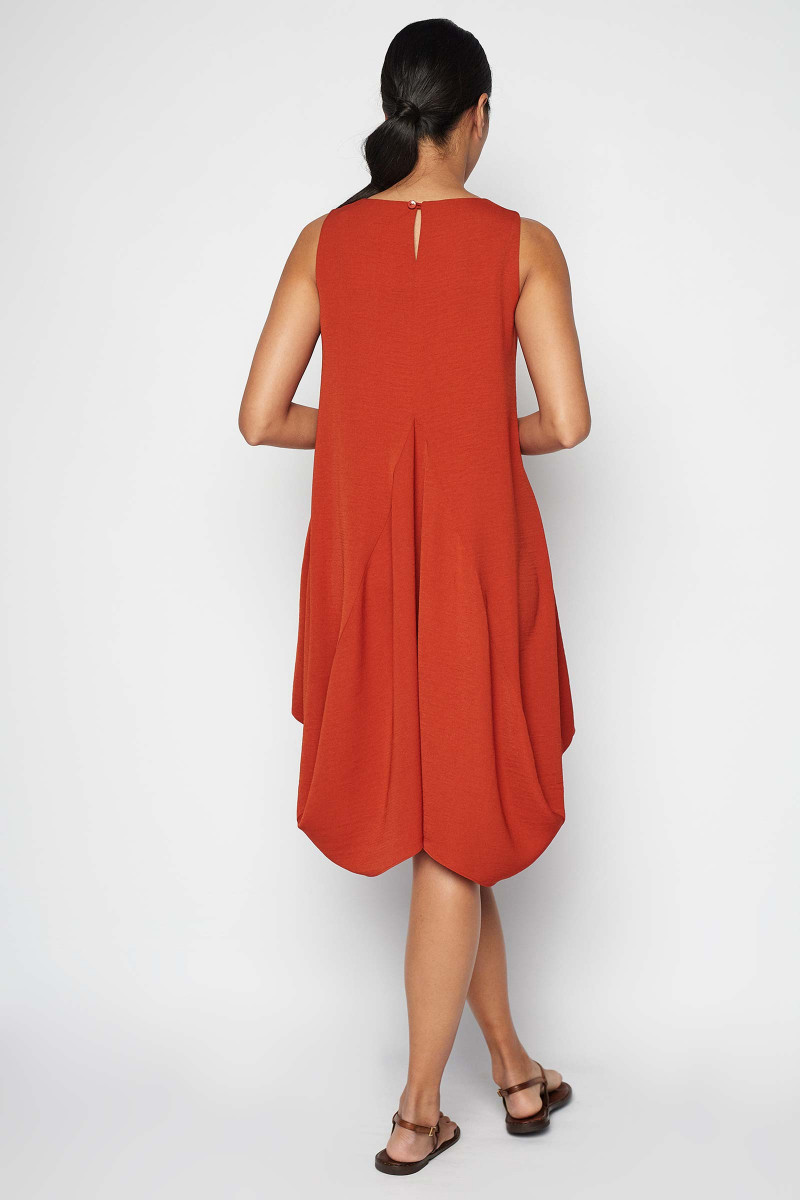Red Etna Dress