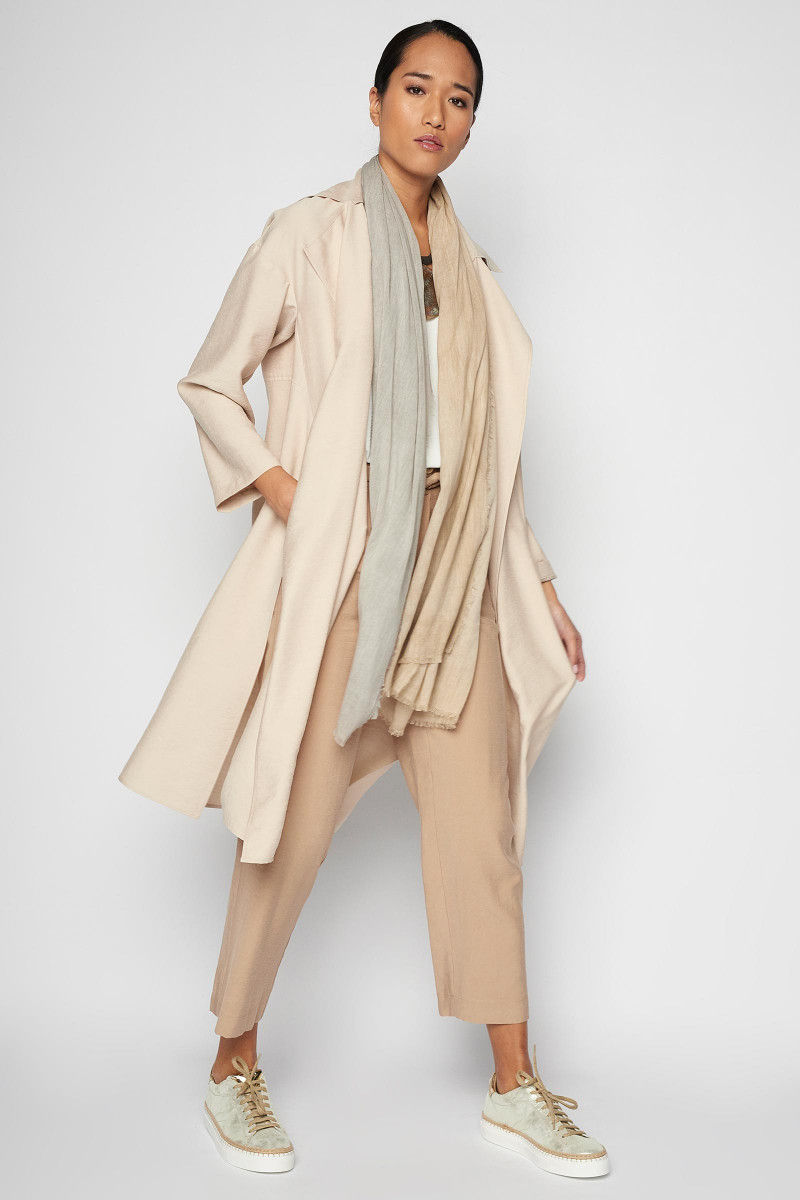 Beige Odiel Trench Coat