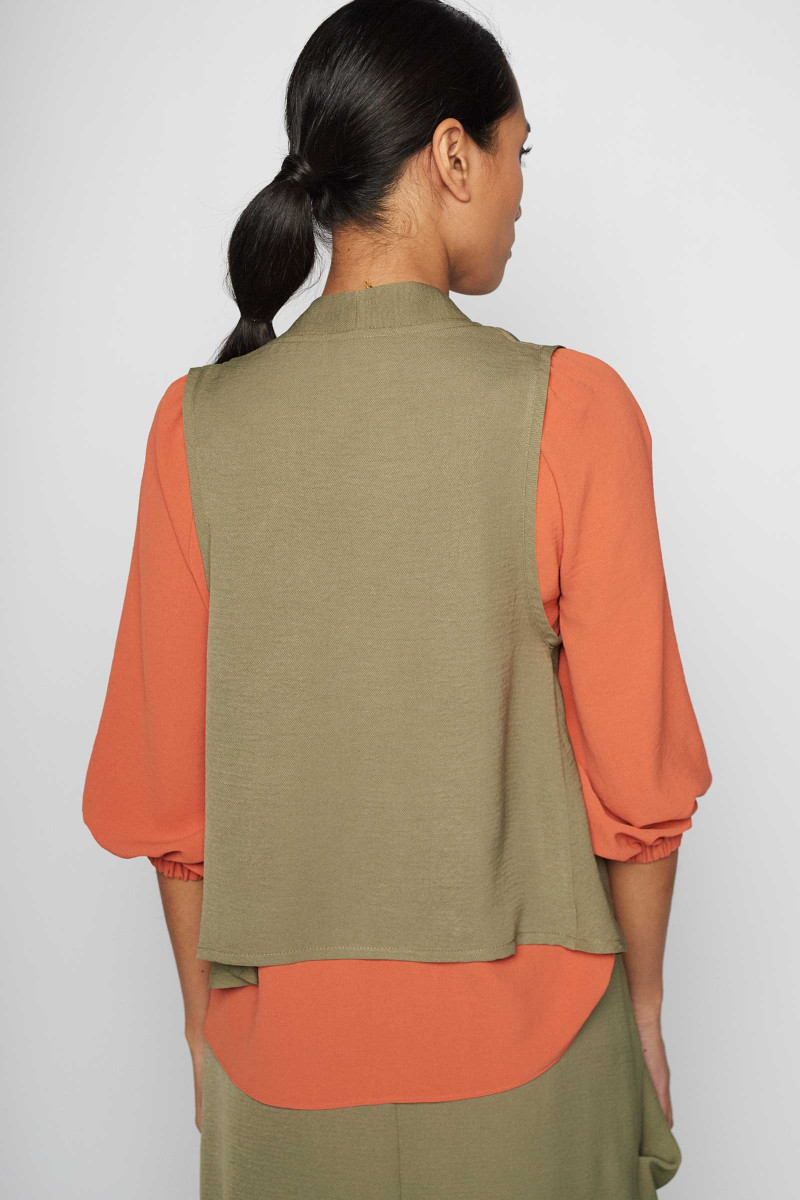 Sella Green Vest