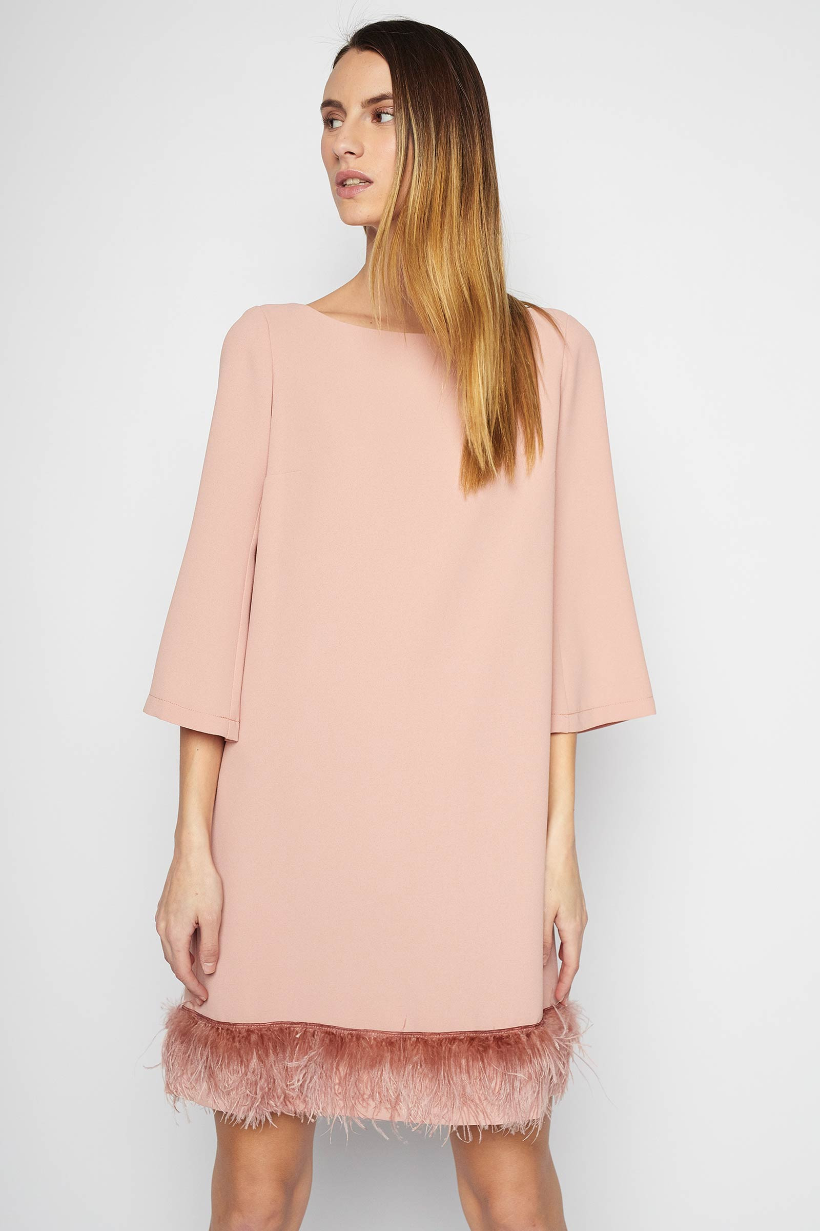Pink Narciso Dress Elisa Rivera