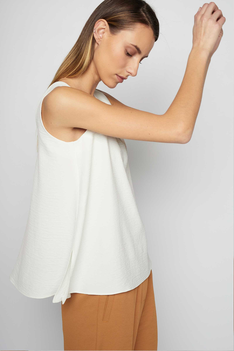White Ega Top