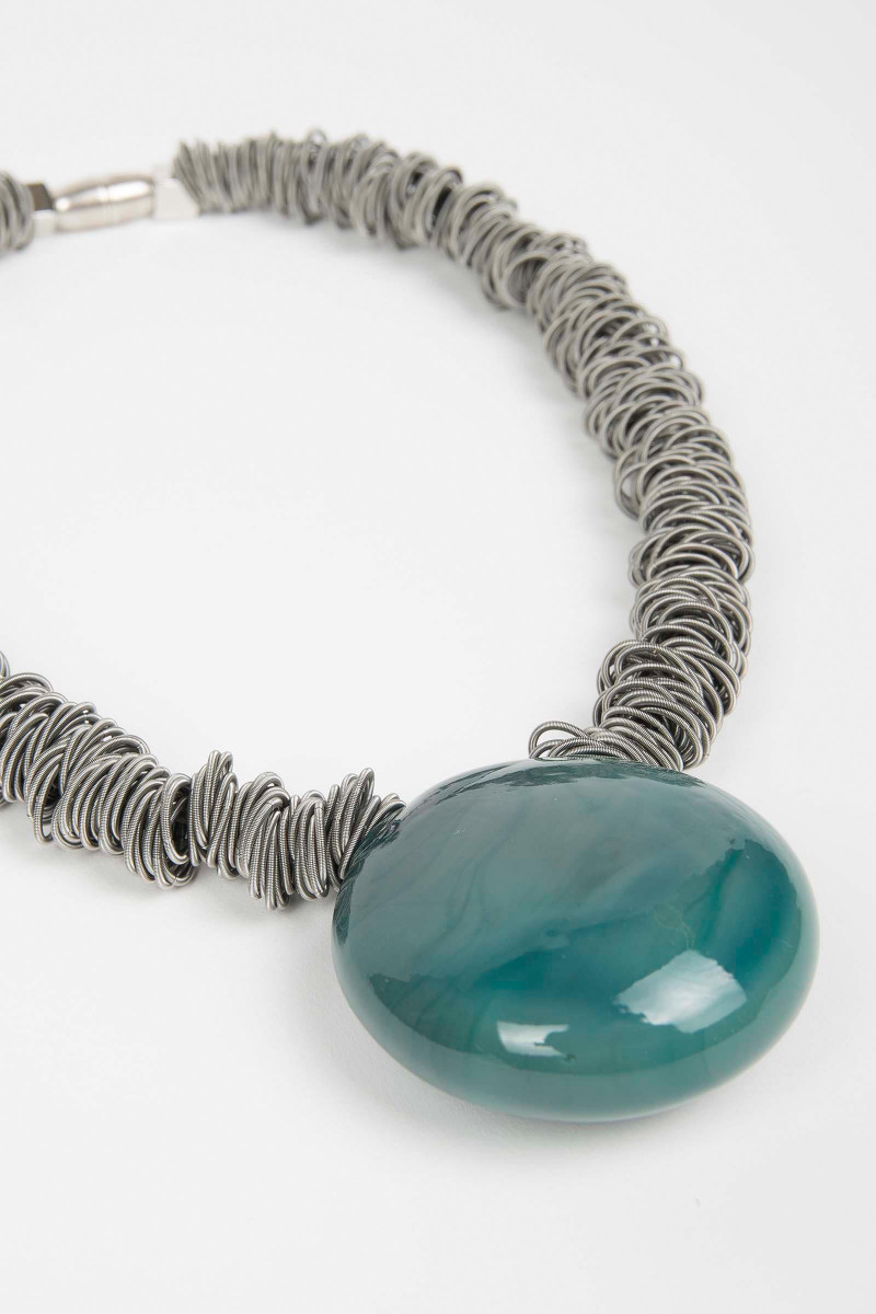 Water Green Malatea Necklace