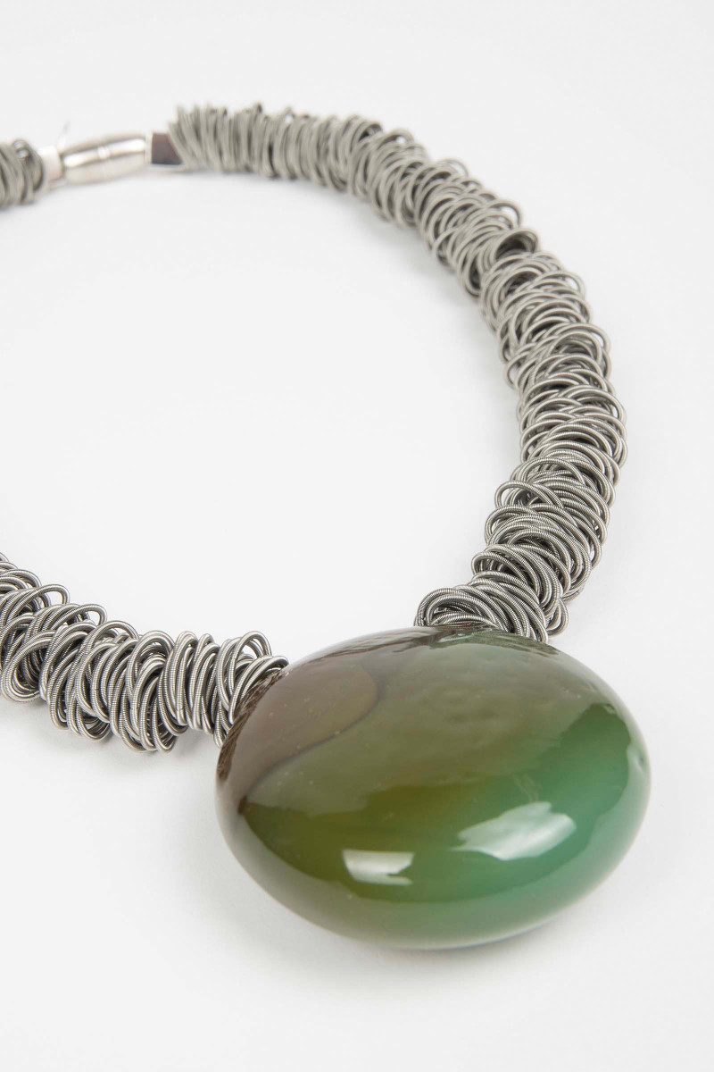 Green Malatea Necklace