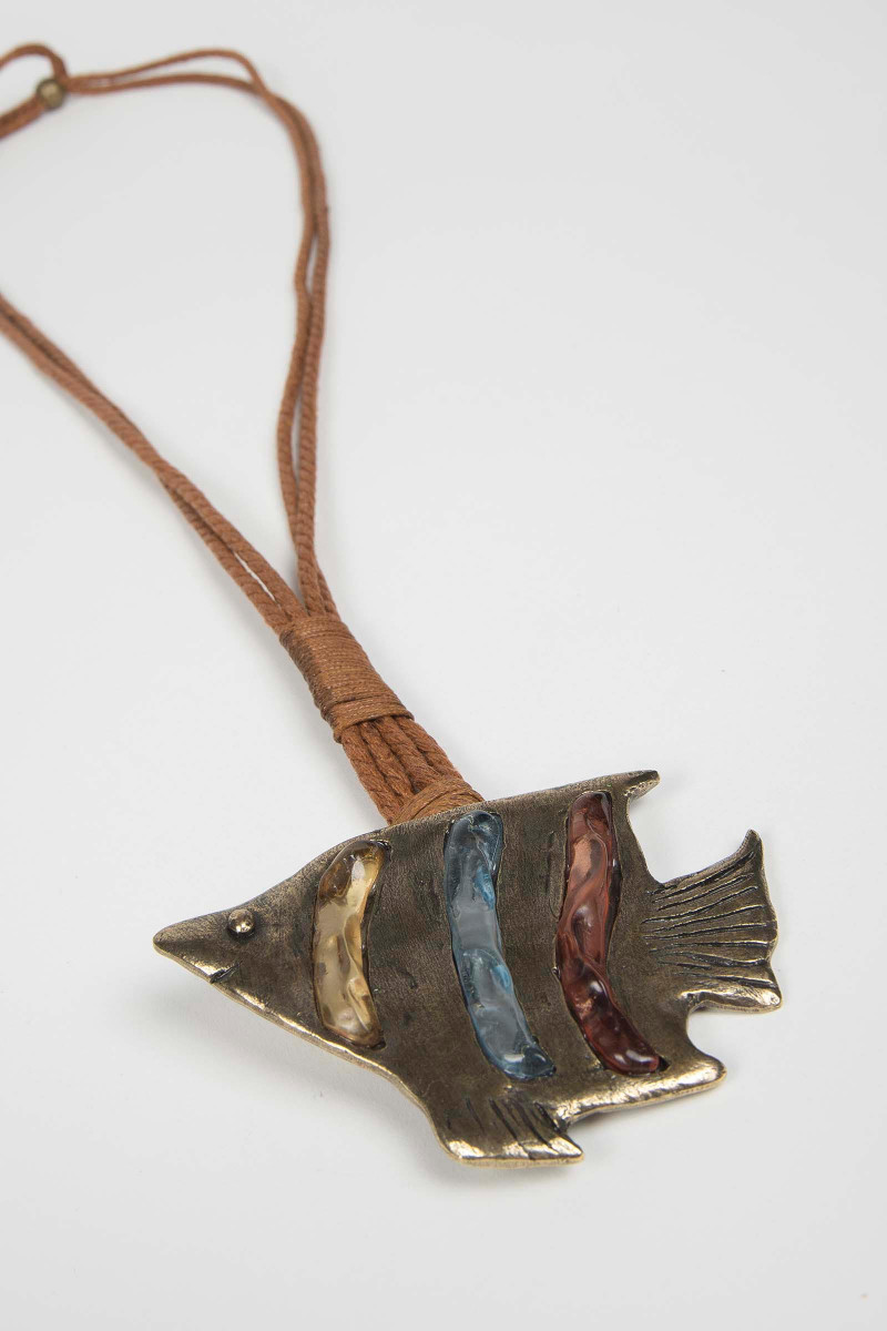 Camel Fish Necklace