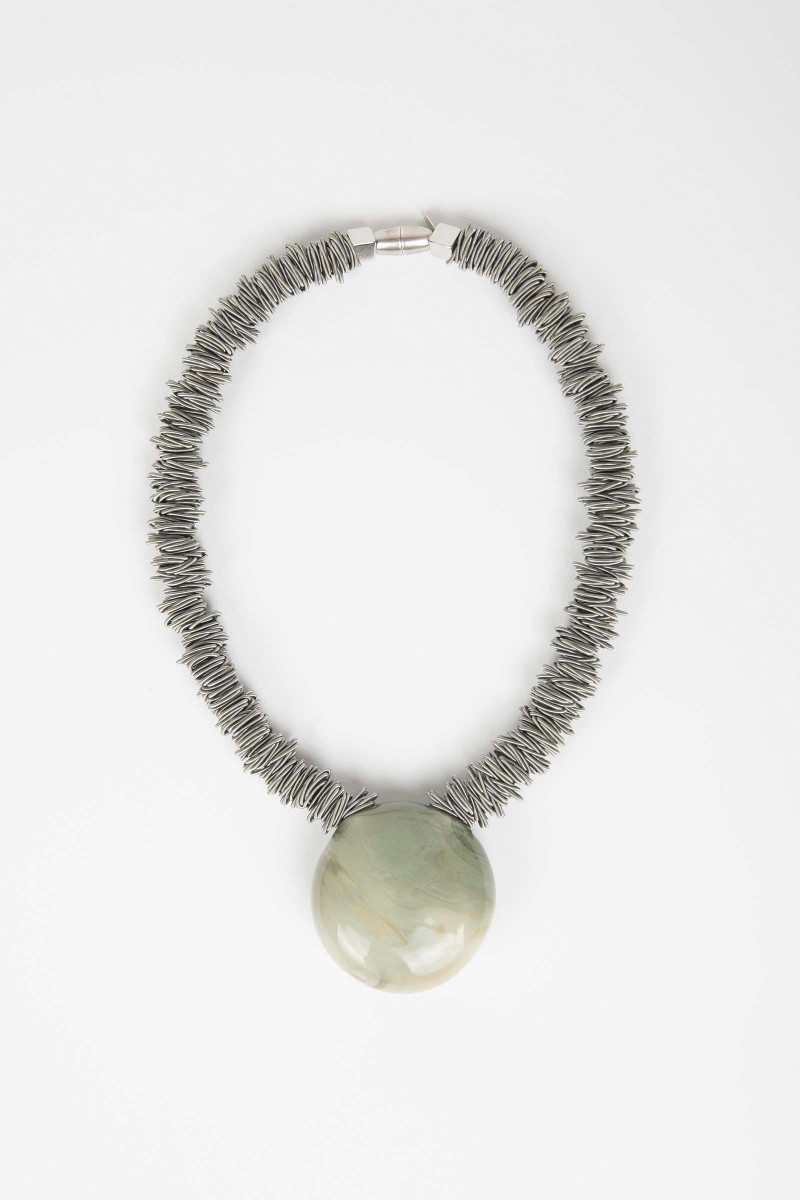 Malatea Light Green Necklace Elisa & Eduardo Rivera