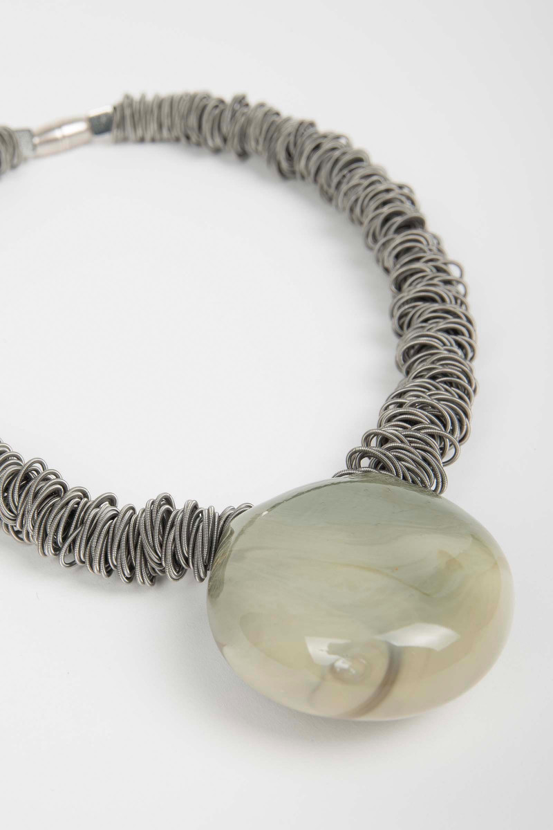 Malatea Light Green Necklace