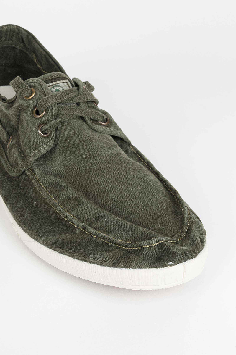Green Nautical Sneakers