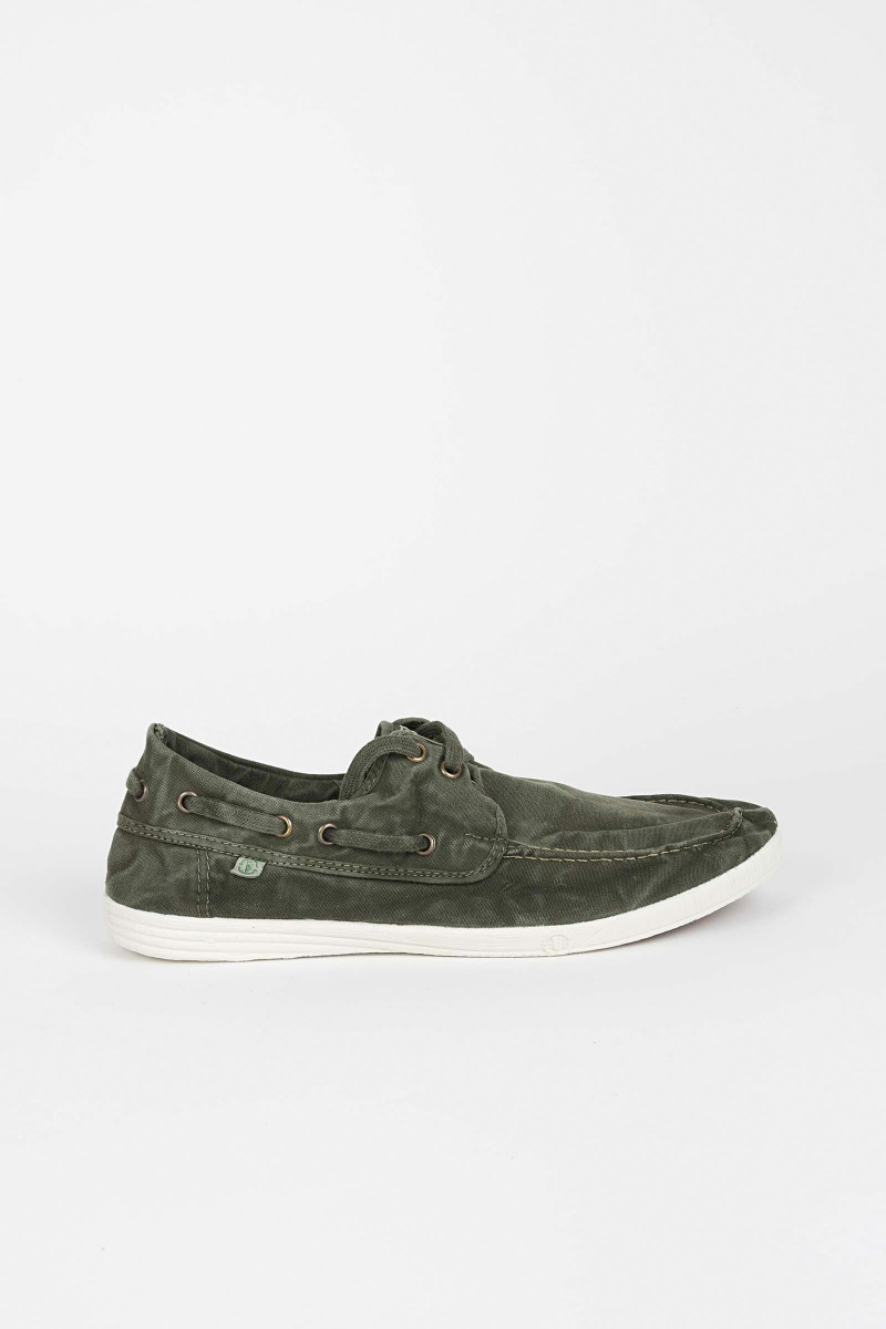 Green Nautical Sneakers Eduardo & Elisa Rivera