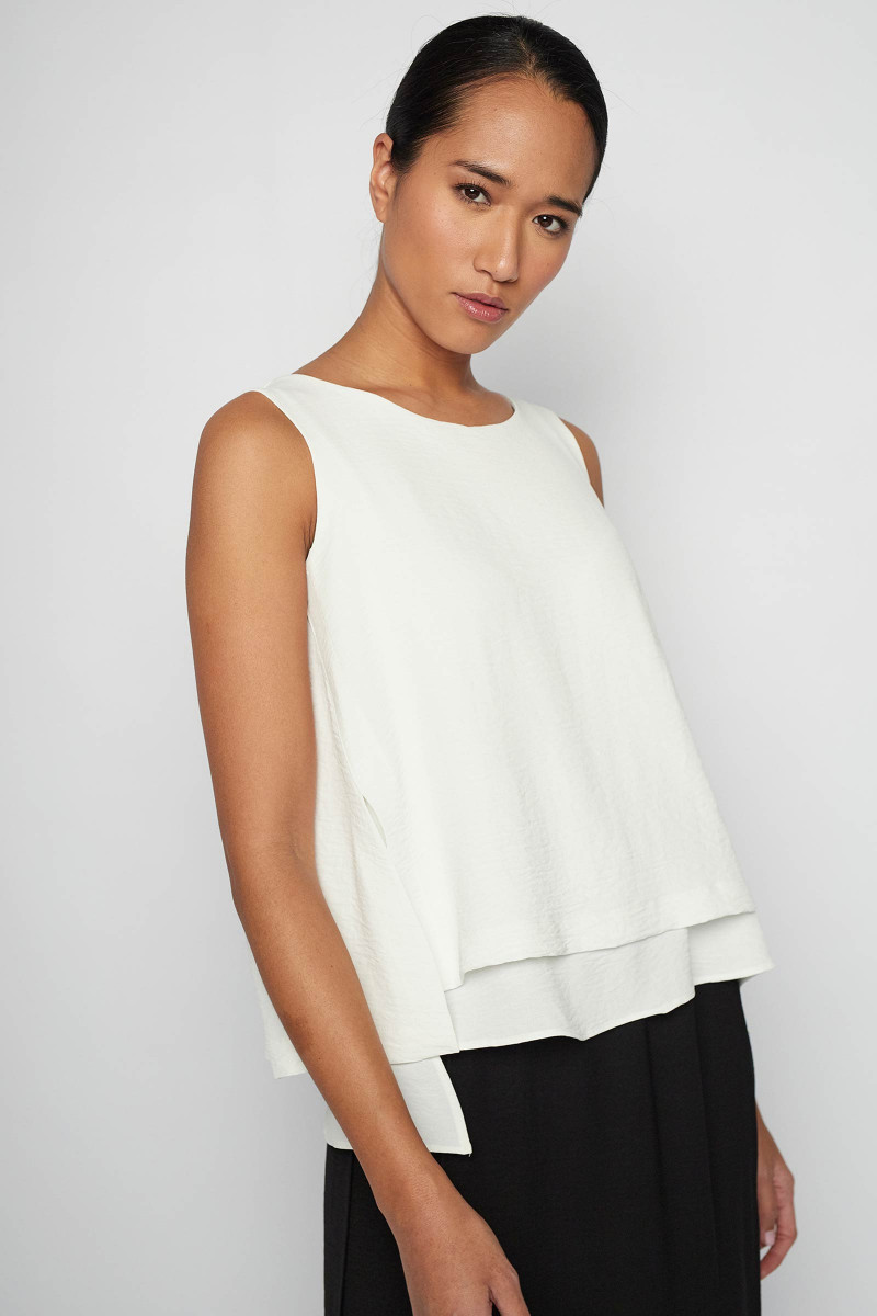 White Arga Top