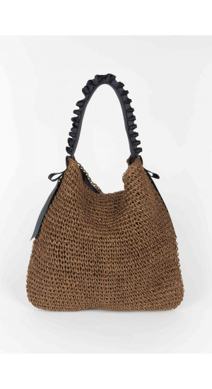Brown Lola Bag Elisa Rivera