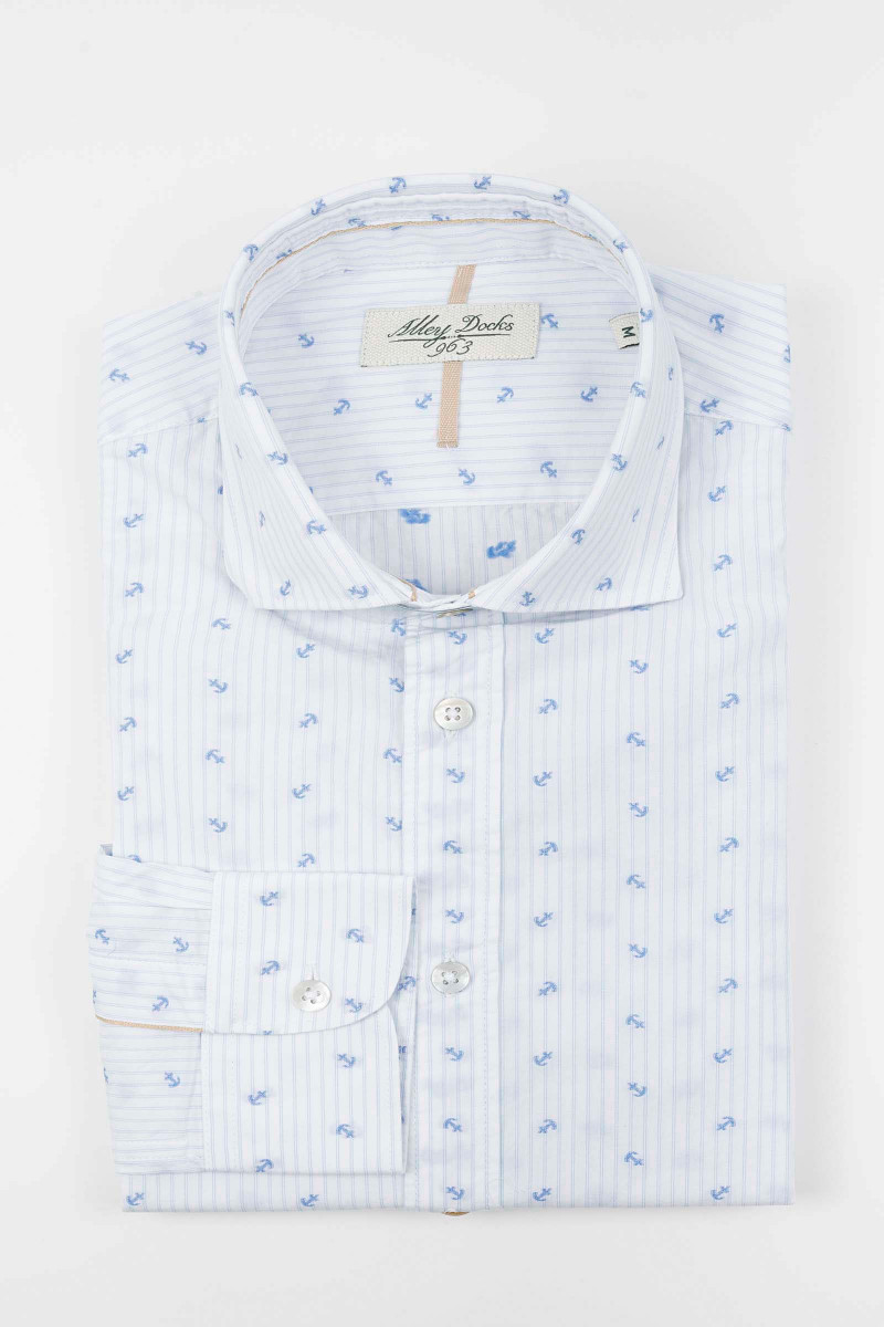 Stripes Anchors Shirt