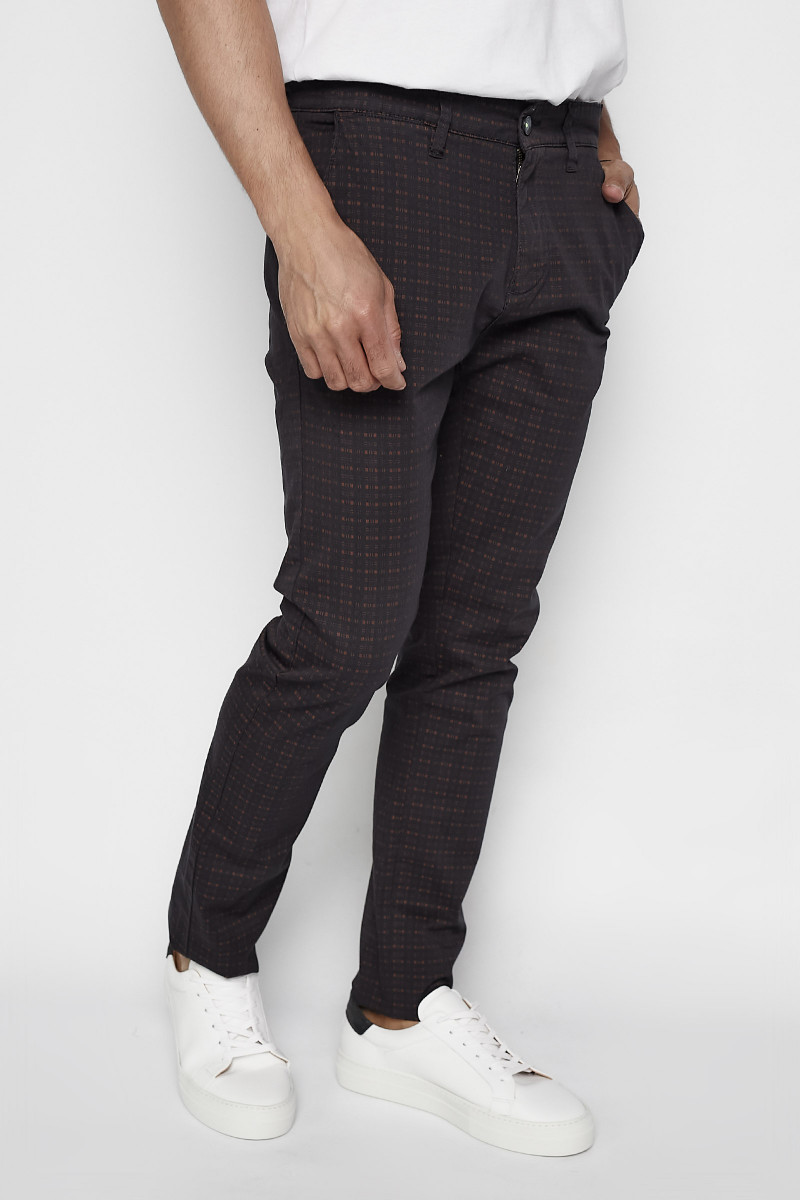 Printed Chinos Pants Eduardo Rivera