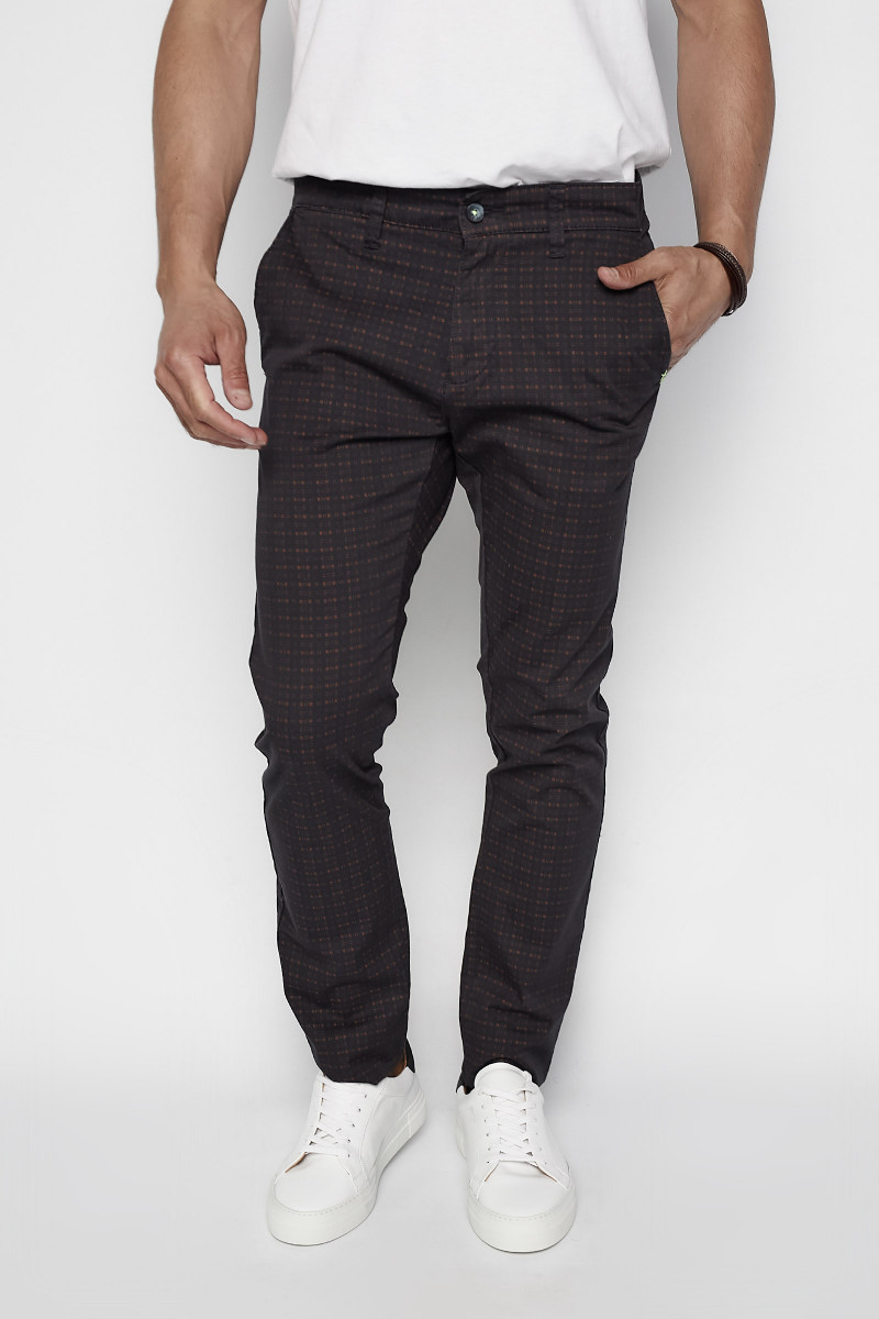 Printed Chinos Pants
