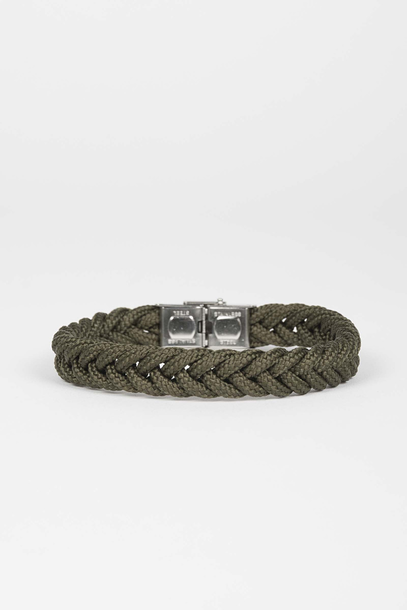 Braided Green Bracelet Eduardo Rivera